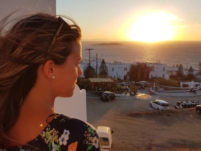 Viaje a Mykonos: playas, atardeceres, calles con encanto, viento, caos y mucha fiesta